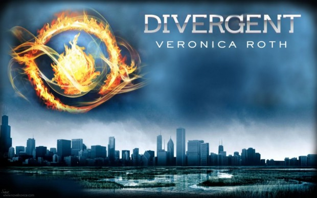 Divergent, book review, Hunger Games