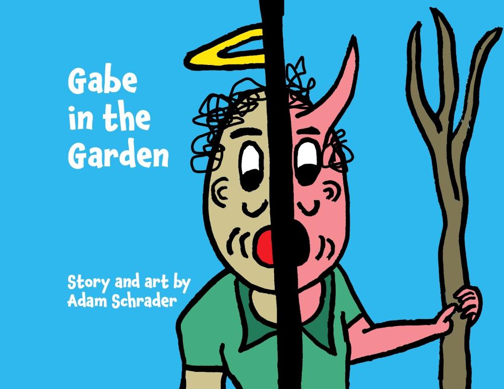 """Gabe in the Garden"" cover"
